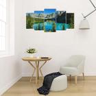 """Картина модульная на подрамнике """"Горная река"""" 2-40*80; 2-50*100; 1-60*120: 120*250 см - фото 939917"""
