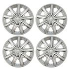 """Колпаки колесные R14 """"ШАТТЛ"""", серебристый, набор 4 шт."""