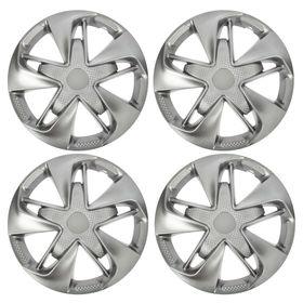 "Hubcaps wheel R16 ""SUPER ASTRA"" silver-carbon, set 4 PCs"