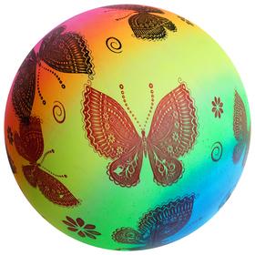 Мяч детский «Бабочки», d=22 см, 70 г