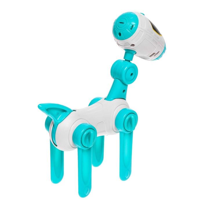 Проектор-лампа «Космическая собачка», 4 слайда, 32 картинки, 8 фломастеров, МИКС
