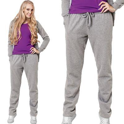 Брюки женские StanStepWomen, размер 44, цвет серый меланж 280 г/м 50W