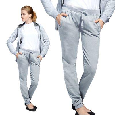 Брюки женские StanJumpWomen, размер 44, цвет серый меланж 260 г/м