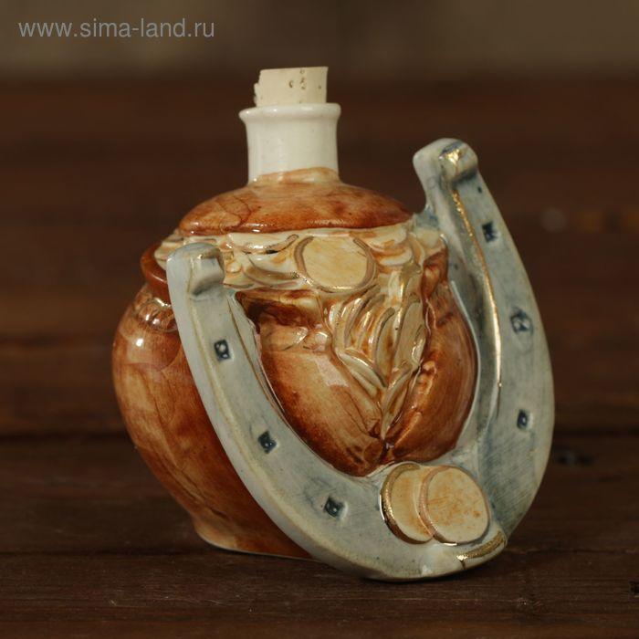 "Мини-штоф фарфор ""Подкова"" 50 мл"