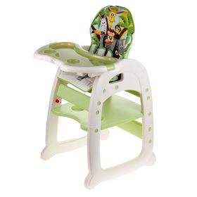Стульчик для кормления Polini 460, трансформер , цвет зелёный