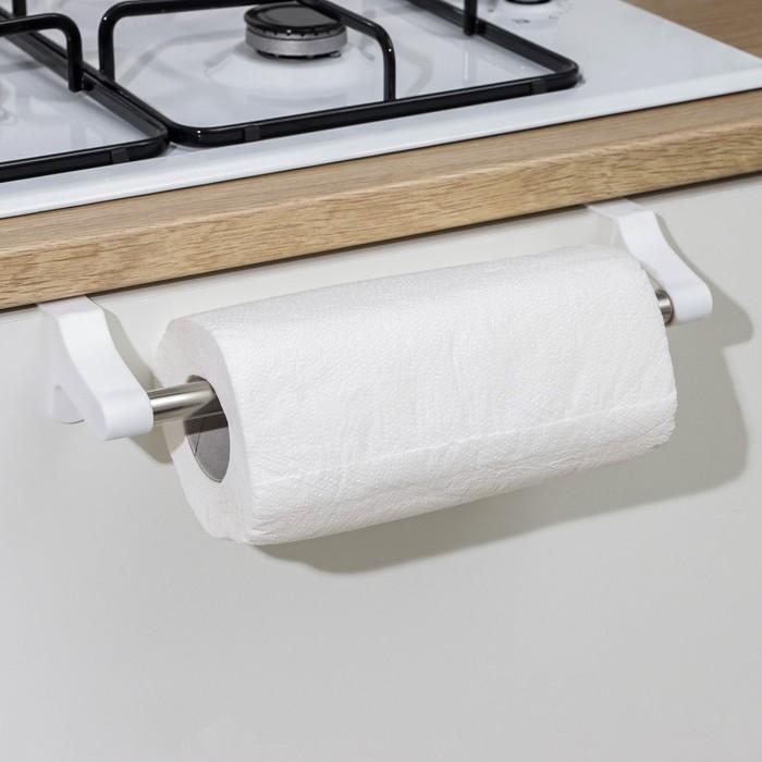 Держатель для полотенец навесной Prestige, цвет снежно-белый - фото 308016140