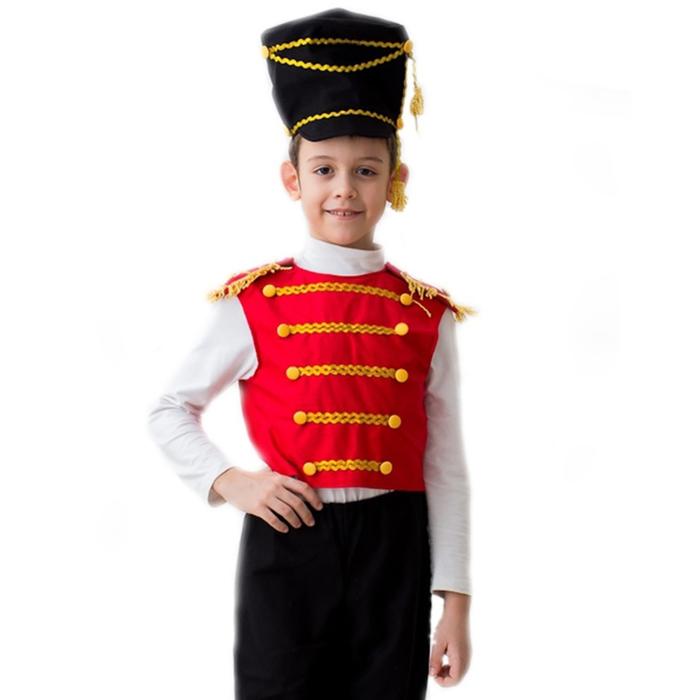 """Карнавальный костюм """"Гусар"""", 5-7 лет, рост 122-134 см - фото 1719221"""