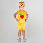 """Карнавальный костюм """"Ёжик"""", шапка, безрукавка, шорты, 3-5 лет, рост 104-116 см"""