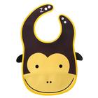 Нагрудник «Обезьянка» из клеёнки, с отворачивающимся карманом, на регулируемых кнопках - фото 105449468