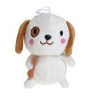 """Мягкая игрушка """"Собака с костью"""", 16 см, МИКС"""