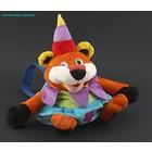 Мягкая игрушка-рюкзак Тигр-клоун