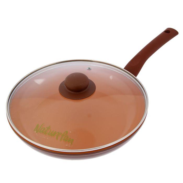 Сковорода 26 см Ceramic Induction, с крышкой