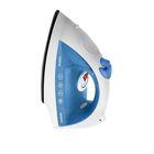 Утюг Magnit RMI-1600, 1400 Вт, нержавеющая сталь, белый/синий
