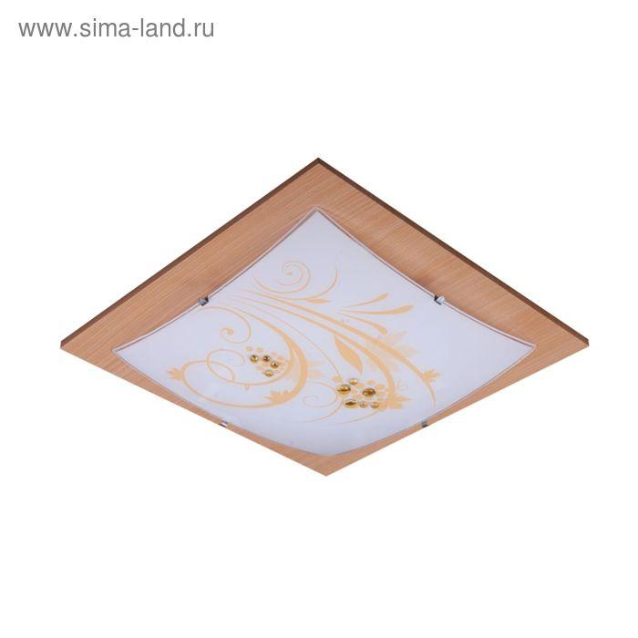 """Люстра настенно-потолочная """"Адриана"""" 3 лампы E27 60Вт 40х40х9см."""
