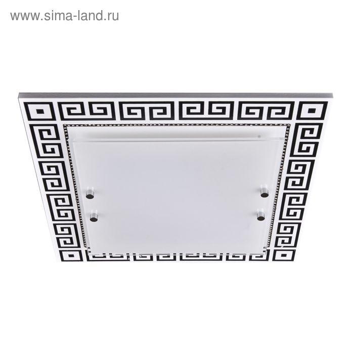 """Люстра настенно-потолочная """"Бьянка"""" 3 лампы E27 60Вт белый 40х40х10 см."""