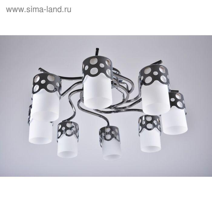 "Люстра ""Леонора"" 8 ламп  E27 60Вт хром 65х65х28 см."