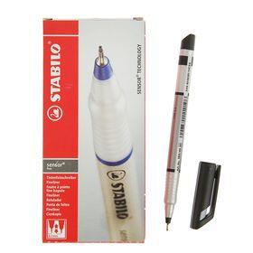 Ручка капиллярная Stabilo Sensor 189/46, узел 0.3мм, чернила черные