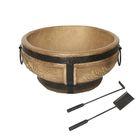 Керамический очаг для костра, малый, 55 см