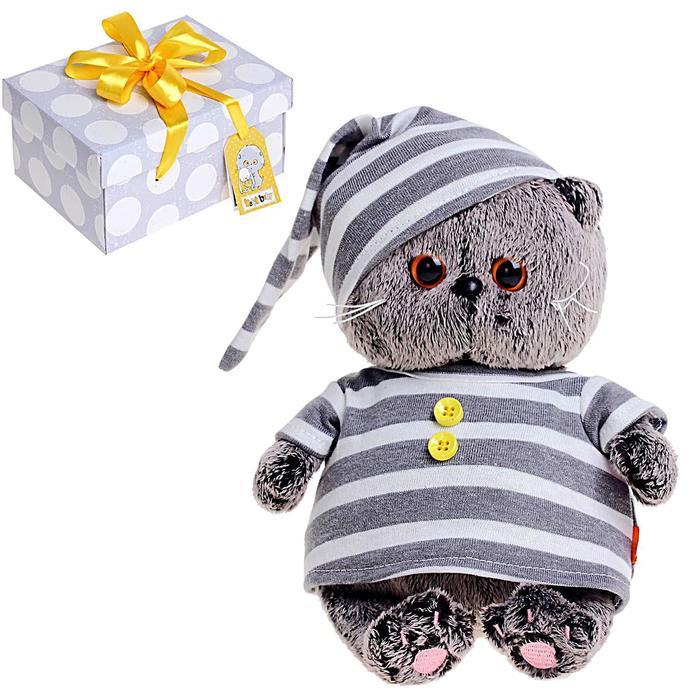 Мягкая игрушка «Басик BABY», в пижамке, 20 см - фото 4468326