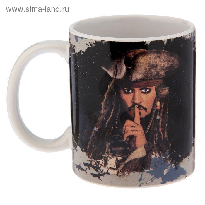 """Кружка 350 мл """"Пираты Карибского Моря - Капитан Джек Воробей"""""""