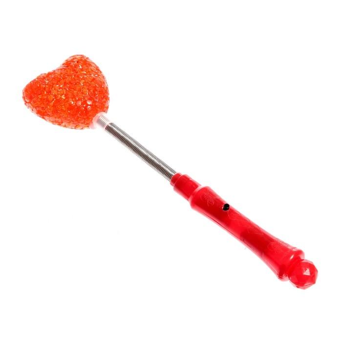 """Световая палочка """"Сердце"""",на пружине, под стекло, цвета МИКС"""