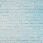 Фотофон «Голубой кирпич», 70 х 100 см, бумага, 130 г/м