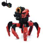 Робот радиоуправляемый «Галактический паук», стреляет мягкими пулями, цвета МИКС