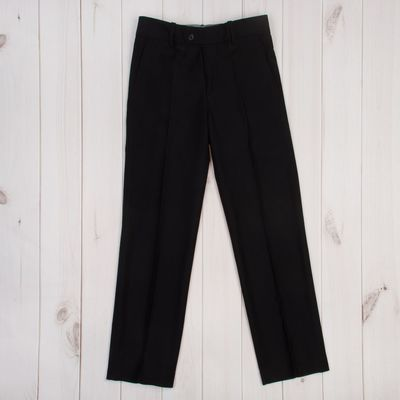 Брюки для мальчика, рост 152 см (38), цвет чёрный 1216131