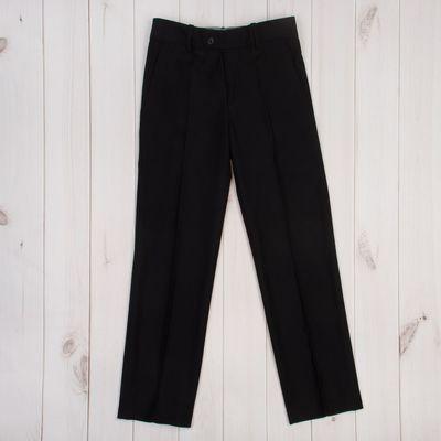 Брюки для мальчика, рост 164 см (42), цвет чёрный 1216131