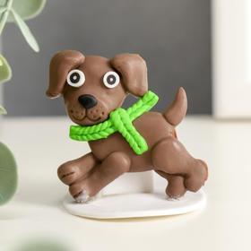 "Souvenir polymer clay ""Puppy Baby"" 4,3x4,5 cm"