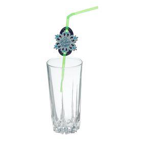 Трубочка для коктейля «Снежинка», набор 6 шт.