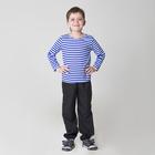Карнавальная тельняшка-фуфайка военного, детская, р. 30, рост 116 см