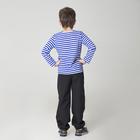 Карнавальная тельняшка-фуфайка военного, детская, р. 34, рост 128 см - фото 105522177