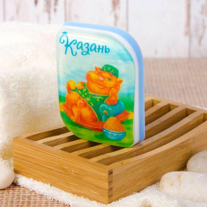 Мыло натуральное с картинкой «Казань» (ручная работа)