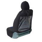 Незапинайка-органайзер на спинку сиденья TORSO, 3 кармана, 600х400 мм, черный
