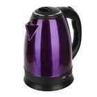 """Чайник электрический """"Чудесница"""" ЭЧ-2007, 1500 Вт, 1.8 л, фиолетовый"""
