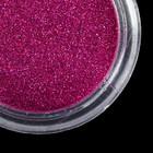 """Втирка """"Зеркальный блеск"""" для декора ногтей, мелкая, цвет фиолетовый"""