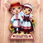 Магнит деревянный «Беларусь»