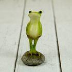 Полистоун лягушонок солдатик 3*2,5*5 см