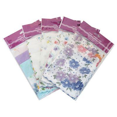Набор женских носовых платков в пакете (3шт) ЭТНИКА, Арт.45452(3) ЭТНИКА, 30х30, х/б