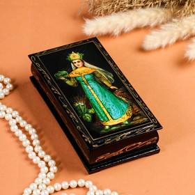 Шкатулка - купюрница «Сказки», 8,5×17 см, лаковая миниатюра