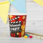 """Набор бумажных стаканов """"Голливудская вечеринка"""", 250 мл, 6 шт."""