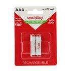 Аккумулятор Smartbuy, Ni-Mh, ААА, HR03-2BL, 1.2В, 600 мАч, блистер, 2 шт.
