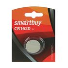 Батарейка Литиевая  Smartbuy, CR1620-1BL, блистер, 1 шт.