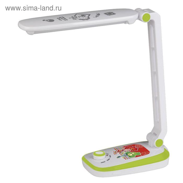 Светильник настольный NLED-425-4W-GR 3000К зеленый ФИКСИКИ