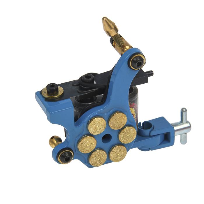 """Индукционная тату-машинка Shader """"Револьвер"""", 6V-8V, катушка 10 витков"""