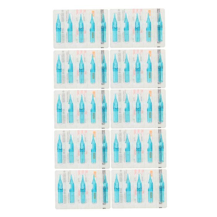 Набор одноразовых наконечников Round Professional (Blue Sea), 50 шт., 5см