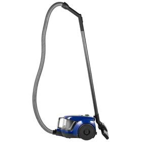 Пылесос Samsung SC4520, 1600 Вт, мощность всасывания 350 Вт, 1.3 л, черный/синий