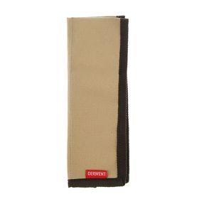 Пенал мягкий футляр карманный Derwent ткань на 12 карандашей коричневый 2300219 Ош