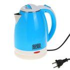 Чайник электрический GOODHELPER KPS-180C, 1.8 л, 1500 Вт, голубой